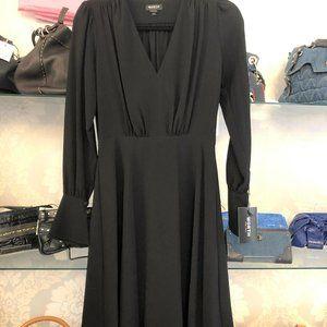 WORTH New York Black Long Sleeve A-Line Dress Style#C191DR00-00